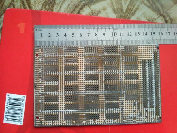 Макетная плата 160 х 100 мм