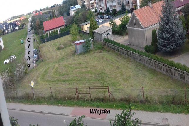 Sprzedam działkę usługowo-budowlaną w Płońsku 1444m2