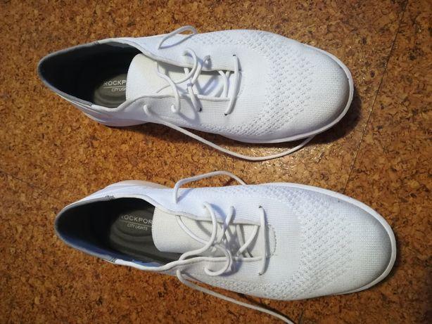 Ténis Rockport brancos pouco usados