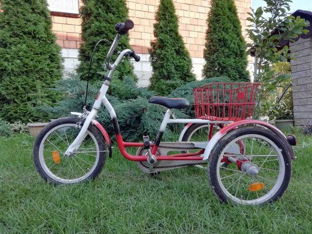 Rower Trójkołowy Rehabilitacyjny  Eco Textil