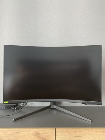 "Mонитор 31.5"" Samsung Odyssey G7 C32G75TQSI Black (QLED, R1000, 240Hz)"