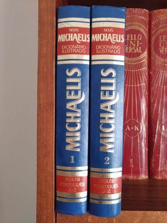 Dicionário ilustrado Michaelis e dicionário Houaiss