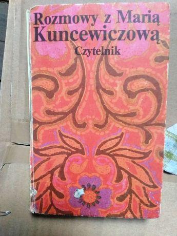 Rozmowy z Marią Kuncewiczową