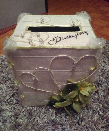 Pudełko na koperty wesele