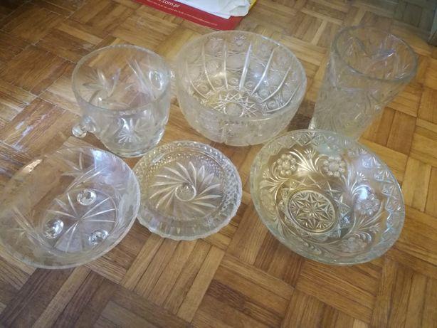 Kryształy PRL kilka sztuk