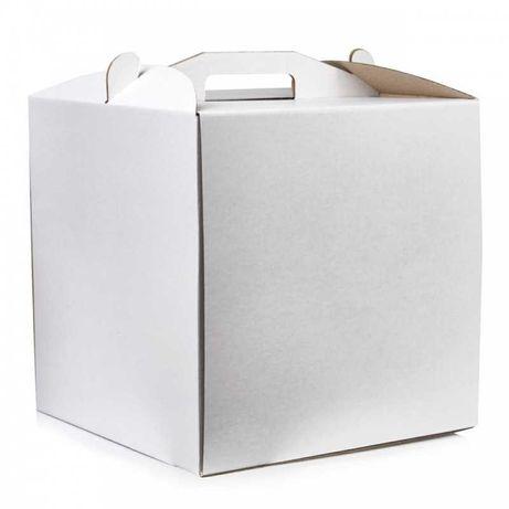 Коробка для торта картонная