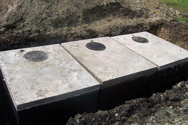 Szamba szambo betonowe 4m3 z Atestem zbiorniki na wodę