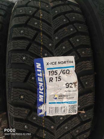 Новые Шины Michelin X-Ice North4 195/60 R15