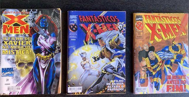 Fantásticos X-Men: volumes 31, 32 e 33