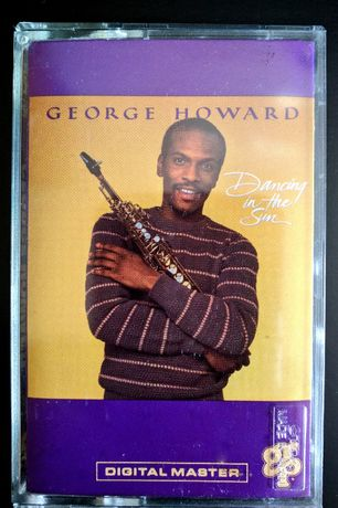 "Cassete Audio ""George Howard - Dancing in the Sun"" (GRP)"