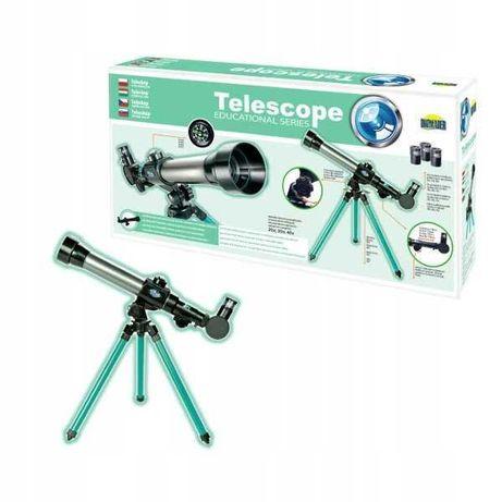 Teleskop edukacyjny na statywie dromader.