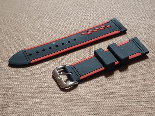 Zegarek - pasek silikonowy do zegarka szerkosc 22 mm Smartwatch itd.