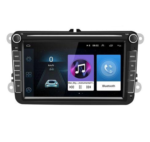 Radio 2 DIN Android 8.1GPS GW.12MSC VW Passat Golf Skoda Octavia Seat