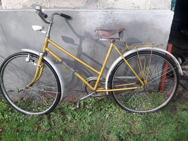 Zabytkowy rower ukraiński