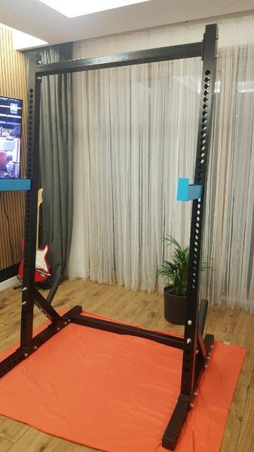 Racktor Stanowisko treningowe Half Rack klatka siłownia brama