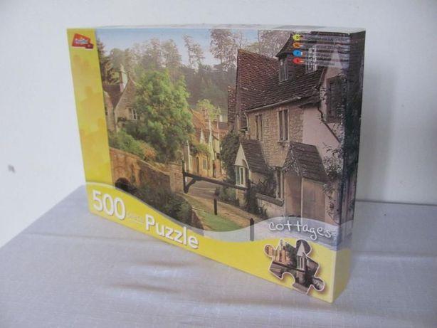 Puzzle Grafix art 500 elementów Cottages - Wieś