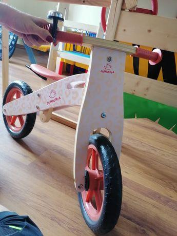 Rower drewniany nowy