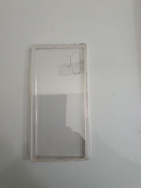 Protecção/capa SAMSUNG Galaxy Note 10+ Silicone transparente