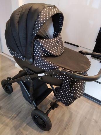 Wózek dziecięcy 3w1 po jednym dziecku spacerówka fotelik duża gondola
