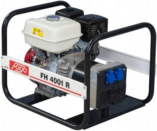 Agregat prądotwórczy FOGO FH4001R 4,2KW / AVR / 230V Rososzyca - image 1