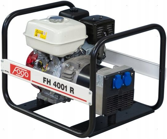 Agregat prądotwórczy FOGO FH4001R 4,2KW / AVR / 230V