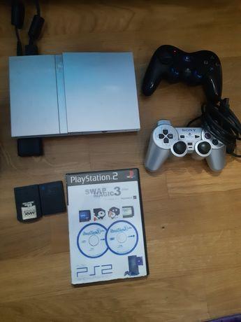 PlayStation 2 com 80 a 100 jogos