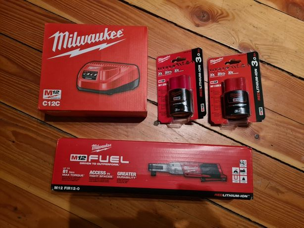 Grzechotka Milwakuee FIR12 zestaw 1/2 cala