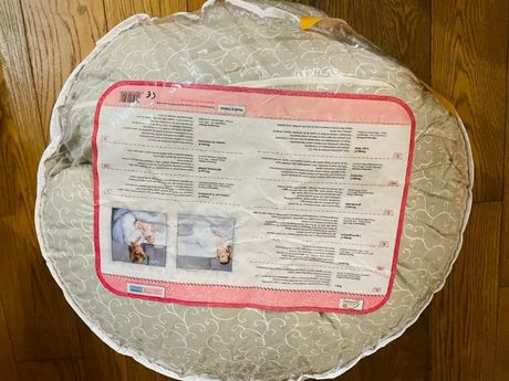 poduszka ciążowa XL szara MotherHood