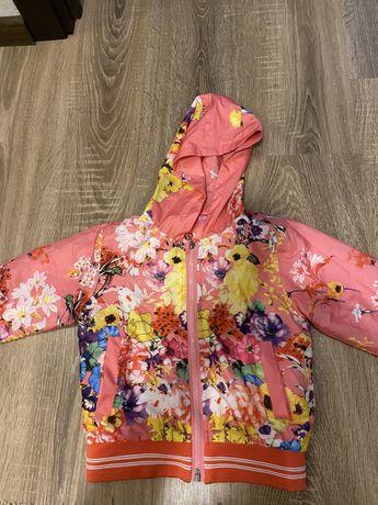 Куртка на девочку 110 рост