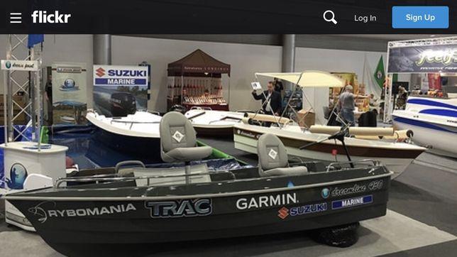 Łódz wędk-motorowa Dreamline 430 fisz