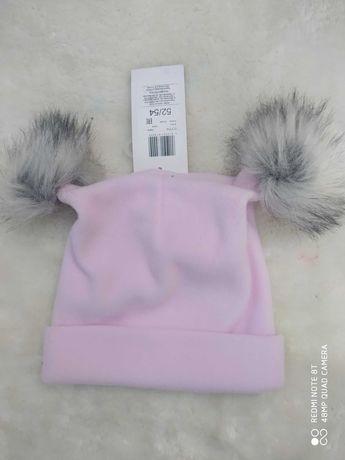 Nowa czapka polar 48/50
