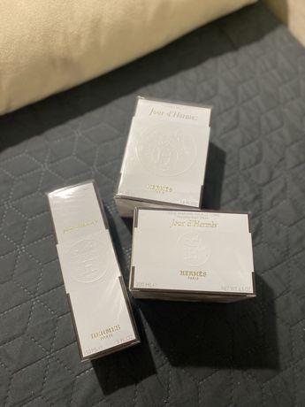 Набор Hermès Jour d'Hermès/Дезодорант Hermes / крем Hermes