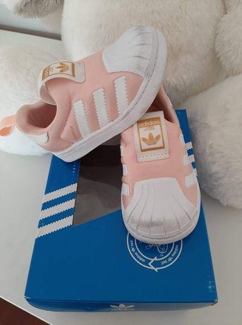 Adidas superstar tamanho 20