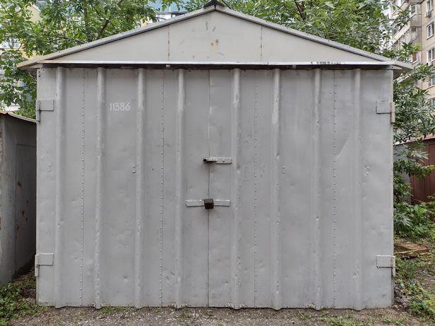 Продам металический гараж оформленный через благоустройство города