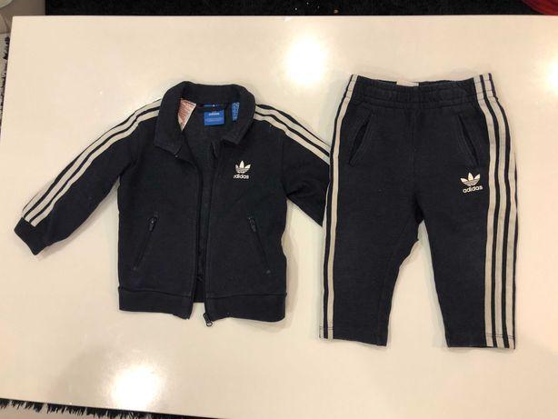 Детский спортивный  костюм Adidas (оригинал!) возраст 9-12 месяцев