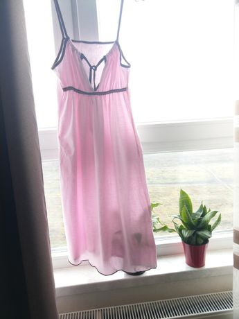 Ночная рубашка 44-46р. Розовая.