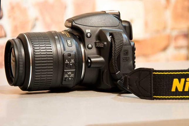 Зеркальный фотоаппарат Nikon D3100 + cумка +флешка