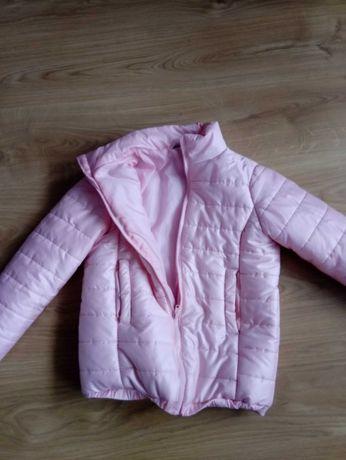 Kurtka zimowa dla dziewczynki różowa. Wysyłka.