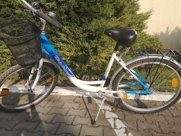 Super wygodny rower miejski z komfortowym siodełkiem