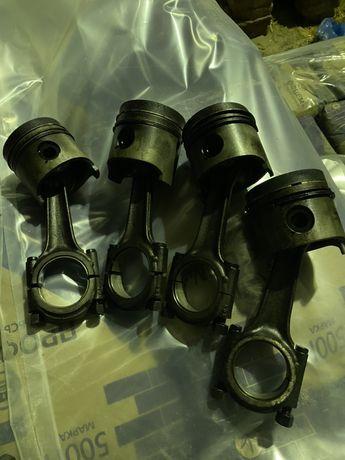 Поршень шатун двигателя fiat ducato 1.9 дизель