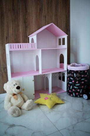 Домик для кукол. Подарок для девочек. Стильный домик для кукол.