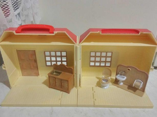 Домик Sylvanian Families Epoch Япония дом набор мебель