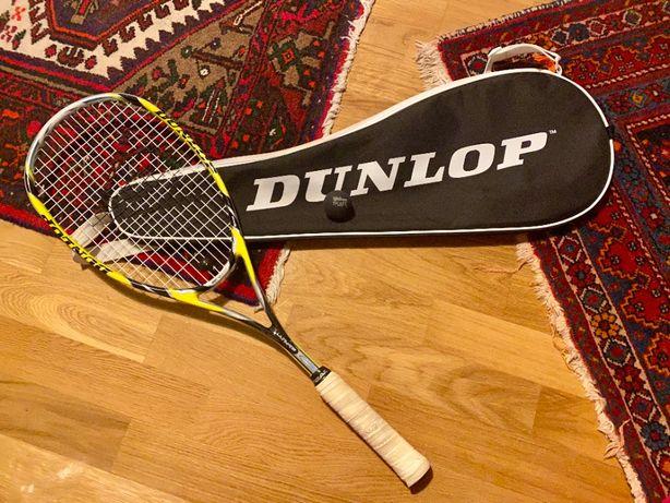 Rakieta do squasha Dunlop Aerogel 4D Ultimate + pokrowiec i piłka