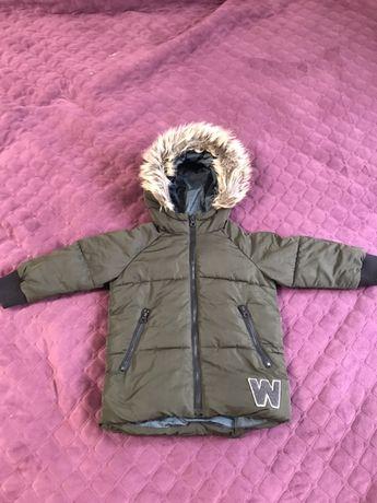 Куртка зимняя zara baby boy 92 см