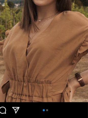 Vestido Zara com Laços