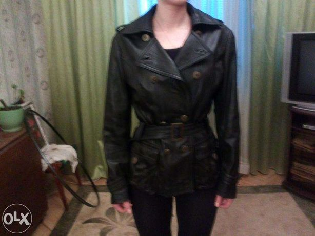 Кожаная куртка 100%