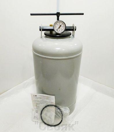 Автоклав газовый Беларусь, на 21шт- 0.5 литровых, 10 литровых банок.
