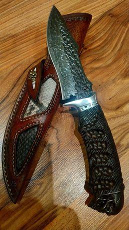 Нож для ценителей искусства Дамасская сталь.