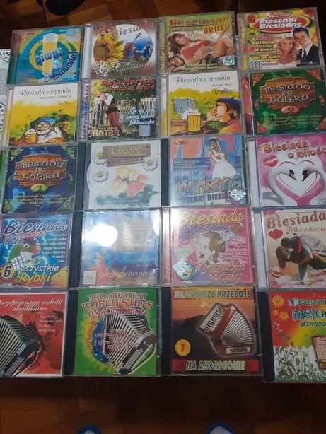 Płyty  CD, disco polo biesiadne ,akordeon  5zł za  sztuka