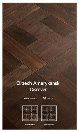 Deska podłogowa Kasetony Orzech Amerykański